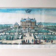 Arte: GRABADO FRANCÉS DEL SIGLO XIX. VUE OPTIQUE. Lote 179127336