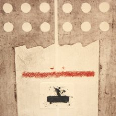 Arte: ANDRES MONREAL (SANTIAGO DE CHILE, 1937 - IBIZA, 2012) GRABADO GOFRADO FIRMADO A MANO. TIRAJE 1/10. Lote 179161761
