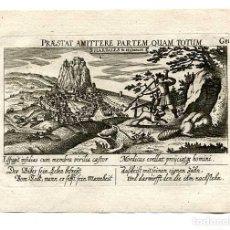 Arte: GRABADO HARDALES ( ARDALES MÁLAGA ) AÑO 1630. MEISNER. Lote 179533356