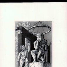 Arte: GUILLERMO PÉREZ VILLALTA FAETÓN-9 AGUAFUERTE Y AGUATINTA ORIGINAL NUMERADO NUMERADO A LÁPIZ XXX /100. Lote 179547832