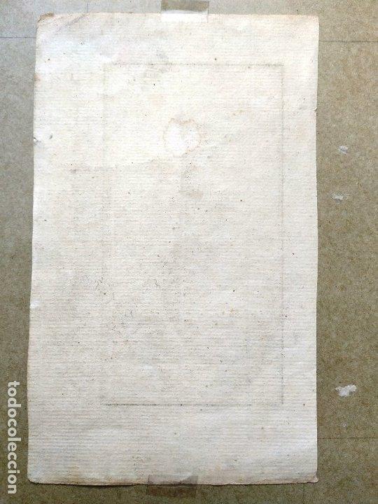 Arte: AGUAFUERTE COLOREADO - MOGOLESA DEL HAREM - GRABADOR: MARTI - 18,5 X 11,5 CM - Foto 2 - 180035211