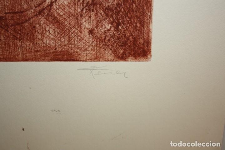 Arte: FIRMADO FERRER. GRABADO CON TIRAJE 6/20. RETRATO - Foto 3 - 180098438
