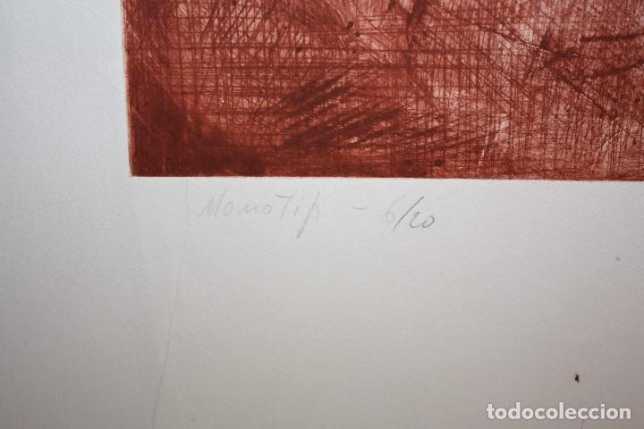 Arte: FIRMADO FERRER. GRABADO CON TIRAJE 6/20. RETRATO - Foto 4 - 180098438