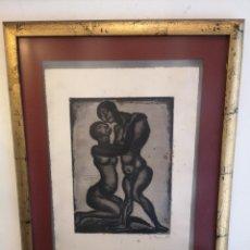 Arte: ANTIGUO GRABADO DE 1928 DE GEORGES ROUAULT. Lote 180131381