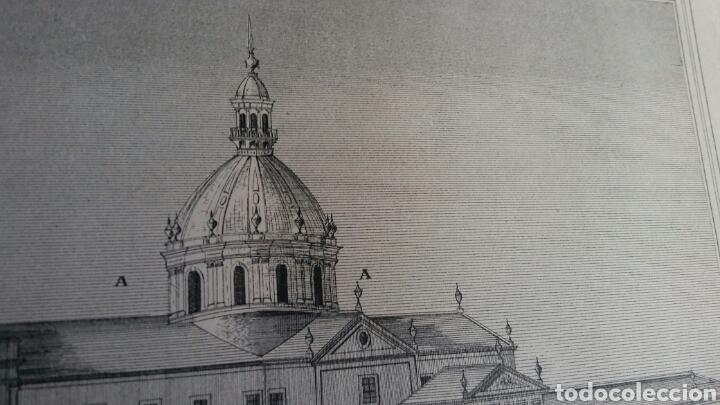 Arte: Grabado especial con cúpula que nunca se construyó - Igreja, hospital y escuela Trindade - Porto - Foto 3 - 180233885