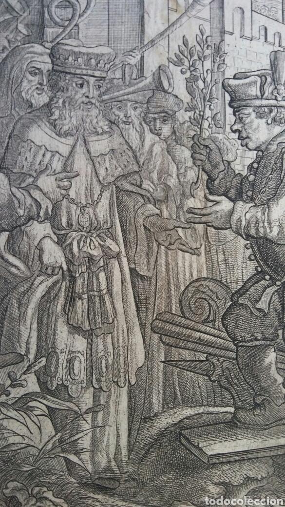 Arte: Gravado - La vida de Esopae - 1714 - Francis Barlow - Foto 2 - 180253875