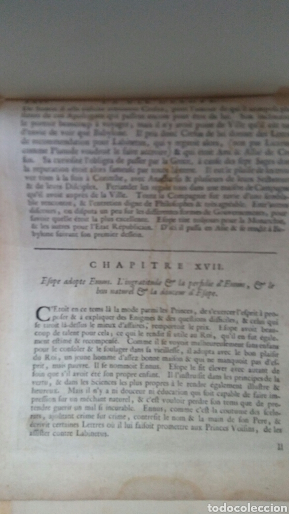 Arte: Gravado - La vida de Esopae - 1714 - Francis Barlow - Foto 5 - 180253875
