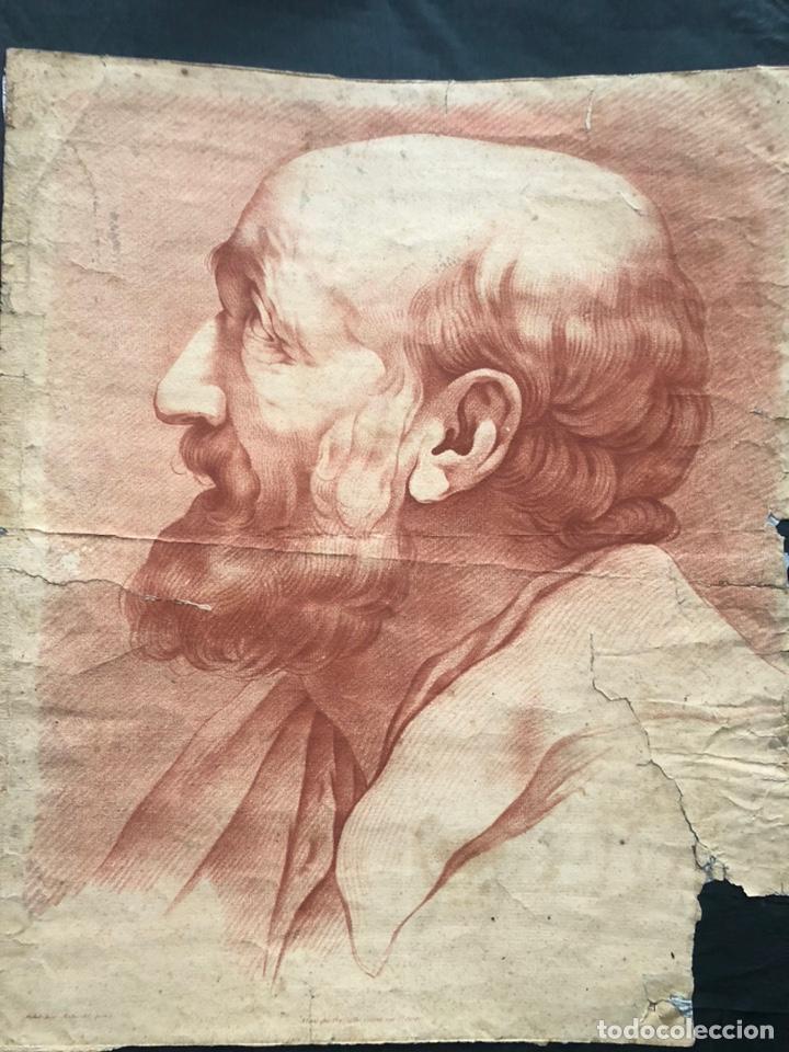 CABEZA (Arte - Grabados - Antiguos hasta el siglo XVIII)