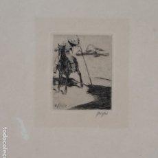 Arte: WILLI GEIGER, PICADOR, DEL PORTFOLIO TAUROMAQUIA / FIRMADO / 1914. Lote 180453808