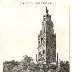 Arte: 1837 - CORDOBA - EXTRAIDO FRANCE MILITAIRE - MEZQUITA - ORIGINAL DE EPOCA. Lote 180455332