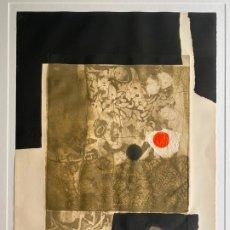 Arte: ANTONI CLAVÉ , GRABADO GOFRADO CARBORUNDUM , AÑO 1974 , COMPOSICION. Lote 180485563