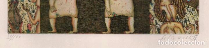 Arte: FELIX WASKE ESCENA ERÓTICA 10 GRABADO ORIGINAL FIRMADO FECHADO 78 NUMERADO LÁPIZ 33/100 ED BRUGBERG - Foto 16 - 180503476