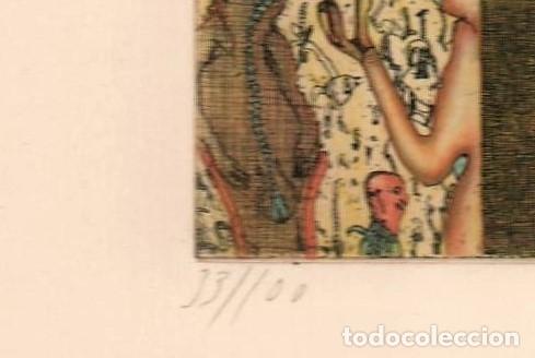Arte: FELIX WASKE ESCENA ERÓTICA 10 GRABADO ORIGINAL FIRMADO FECHADO 78 NUMERADO LÁPIZ 33/100 ED BRUGBERG - Foto 20 - 180503476