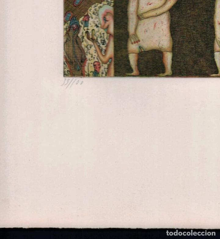 Arte: FELIX WASKE ESCENA ERÓTICA 10 GRABADO ORIGINAL FIRMADO FECHADO 78 NUMERADO LÁPIZ 33/100 ED BRUGBERG - Foto 22 - 180503476