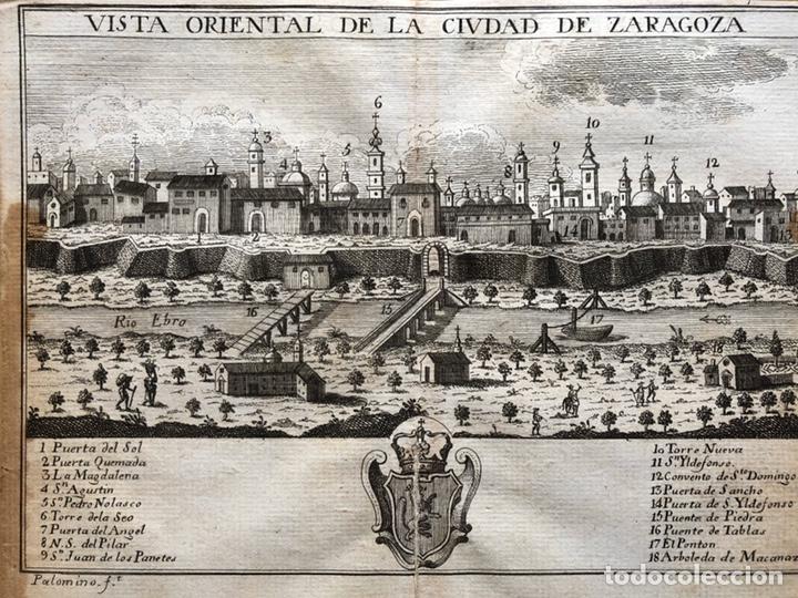 GRABADO ZARAGOZA (Arte - Grabados - Antiguos hasta el siglo XVIII)