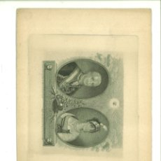 Arte: CARLOS IIII Y MARÍA LUISA SU ESPOSA REYES DE ESPAÑA. JUAN BAUZIL (PINTOR DE CÁMARA). Lote 181014451