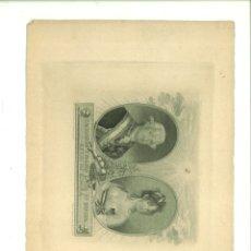 Arte: CARLOS IIII Y MARÍA LUISA SU ESPOSA REYES DE ESPAÑA. ANTONIO POZA Y MUÑOZ (PINTOR DE CÁMARA). Lote 181019462