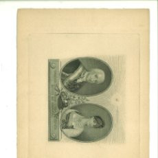 Arte: CARLOS IIII Y MARÍA LUISA SU ESPOSA REYES DE ESPAÑA. JUAN BAUZIL (PINTOR DE CÁMARA). Lote 181021486