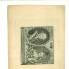 Arte: CARLOS IIII Y MARÍA LUISA SU ESPOSA REYES DE ESPAÑA. JUAN BAUZIL (PINTOR DE CÁMARA). Lote 181021646