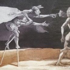 Arte: EL GRAN TEATRO DEL MUNDO .ANDRES BARAJA.AGUAFUERTE.. Lote 181215052
