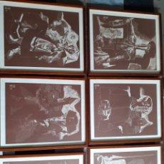 Arte: COLECCION 6 GRABADOS JUAN ANTONIO ALDA. Lote 181468513