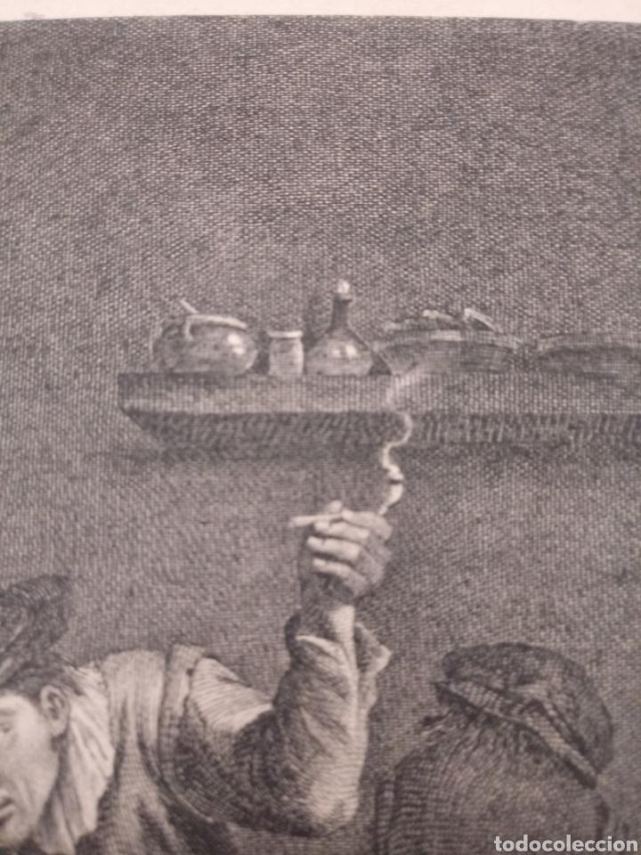 Arte: Antiguo grabado al aguafuerte. SXVIII (Adherido a un cartón) - Foto 11 - 181480952