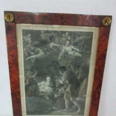 Arte: GRABADO LA ADORACIÓN DE LOS PASTORES - RAFAEL MENGS - MORGHEN RAFFAELLO GRABADOR - AÑO 1791. Lote 181774640
