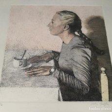 Arte: MATÍAS QUETGLAS GRABADO A COLOR FIRMADO Y NUMERADO (VI/X) A LÁPIZ. Lote 181943065