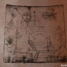 Arte: GRABADO DE PAUL KLEE.FIRMADO A MANO Y NUMERADO 18/25 HÖHE! (HEIGHT!). Lote 181959515