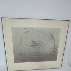 Arte: JOAN PONÇ (BARCELONA 1927- FRANCIA 1984) - GRABADO H.C - FIRMA A LÁPIZ - AÑO 1979. Lote 181990766