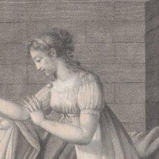 Arte: GRABADO ALPHONSINE OU LA TENDRESSE MATERNELLE. PIERRE-PAUL PRUD'HON- J. BAPTISTE CHARPENTIER . Lote 182175616
