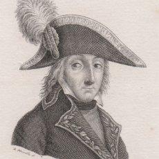 Arte: GRABADO DE SOLDADO DE GUARDIAS WALONAS DE AMILLS CON DIBUJO DE BUENAVENTURA PLANELLA. Lote 182176726