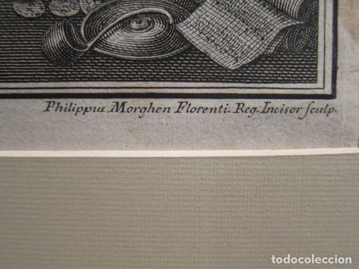 Arte: Aguafuerte, Retrato de Carlos III - Filippo Morghen - Foto 5 - 182203750