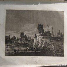 Arte: AGUAFUERTE, PAISAJES - LUIGI RADOS. Lote 182206238