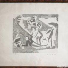 Arte: AIME MONTANDON. AGUAFUERTE Y PUNTASECA.. Lote 182353497