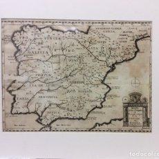 Arte: ANTIGUO MAPA DE LOS OBISPADOS-ANDRADE SCULP. AÑO 1749. Lote 182383278