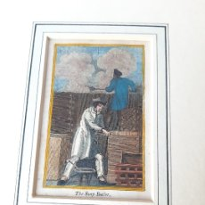 Arte: GRABADO SOBRE PROFESIONES EN 1820. TALLER DE CALDERÍA. Lote 182569570