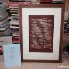 Arte: GRABADO ORIGINAL DE HORACIO SAPERE CON TÉCNICAS DE AGUAFUERTE Y AGUATINTA . 50 X 33 CM. MALLORCA. Lote 182647735