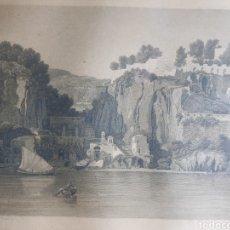 Arte: PAINT PER LE LANCELOT THEODORE TURPIN DE CRISSE APROX 1800. Lote 182716657