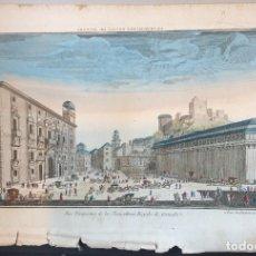 Arte: GRABADO DE GRANADA. S.XVIII. VISTAS ÓPTICAS. VUE PERSPECTIVE DE LA CHANCILLERIE ROYALE DE GRENADE.. Lote 182860121
