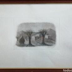 Arte: PAOLO MANARESI ( BOLONIA 1908-1981). GRABADO FIRMADO Y NUMERADO.. Lote 183072832