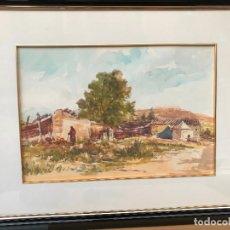 Arte: ACUARELA FIRMADA SAURA MIRA 83 - FULGENCIO - MURCIA. Lote 183207985