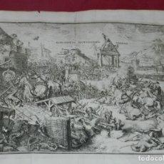 Arte: (M) GRABADO EXPLANATIO EXPUGNATAE AMIDAE - R DE HOGHE 1692, 39X32 CM. Lote 183251162