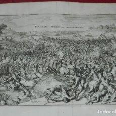 Arte: (M) GRABADO EXPLANATIO PROELII AD ARGENTORATUM - R DE HOGHE 1697, 40X32 CM. Lote 183251297