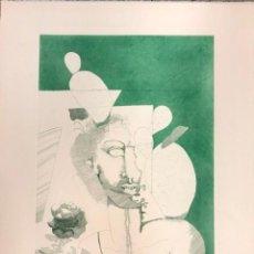 Arte: RAFAEL BARTOLOZZI - GRABADO SOBRE PAPEL -. Lote 183275642