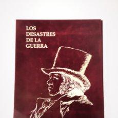 Arte: CARPETA LOS DESASTRES DE LA GUERRA. Lote 183286613