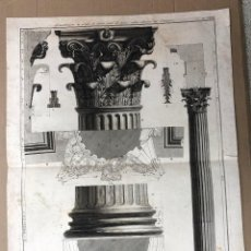 Arte: GRABADO ITALIANO ARQUITECTURA. SIGLO XVIII. Lote 183384905
