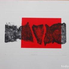 Arte: FJ CASTILLO MÁLAGA 1961GRABADO COLAGRAFÍA DE 30X41,5 PAPEL 50X70.FRAGMENTACIÓN.PA. MUY BUEN ESTADO.. Lote 183419662