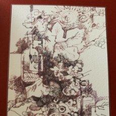 Arte: OBRA ORIGINAL DE ANTONIO ZARCO, 2010. Lote 183586461