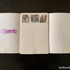Arte: OBRA ORIGINAL DE ANTONIO ZARCO, 2002. CON POESÍA A MANO. Lote 183588517